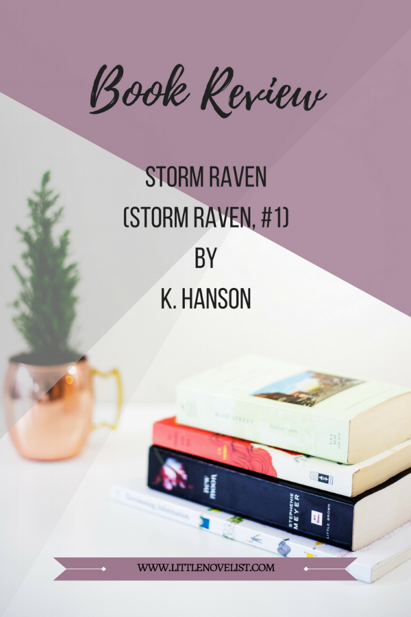 Book Review - Storm Raven (Storm Raven, #1) by K. Hanson.png