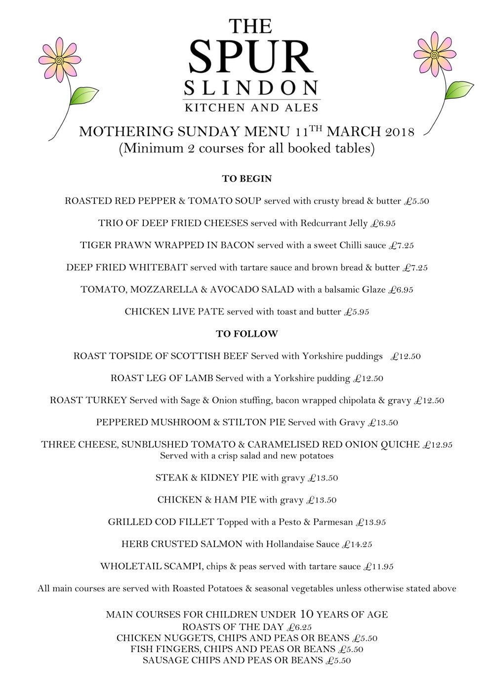 MOTHERING SUNDAY MENU 11TH MARCH   2018-1.jpg