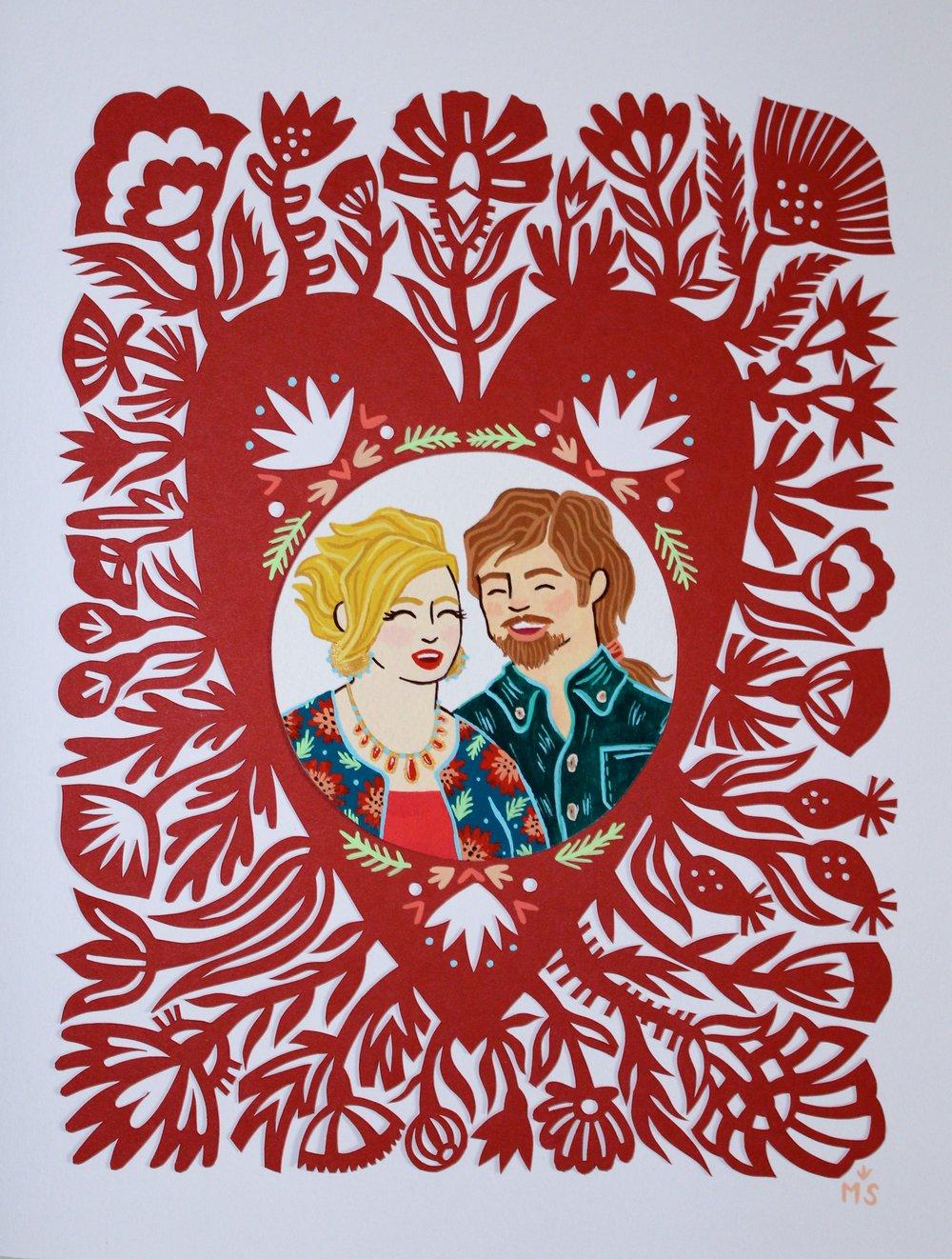 Valentine for Jessica & Alex