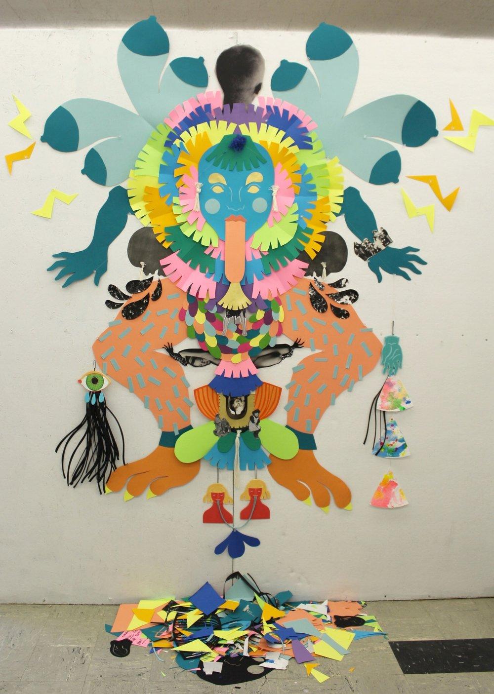 Untitled (Monstrous Feminine/Feminine Monster)