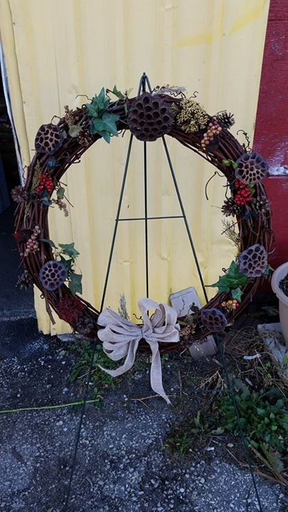 Remembrance Day Natural Wreath