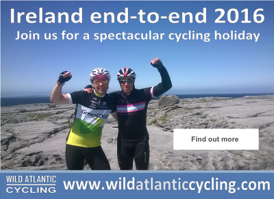 Ireland end to end with Wild Atlantic Cycling