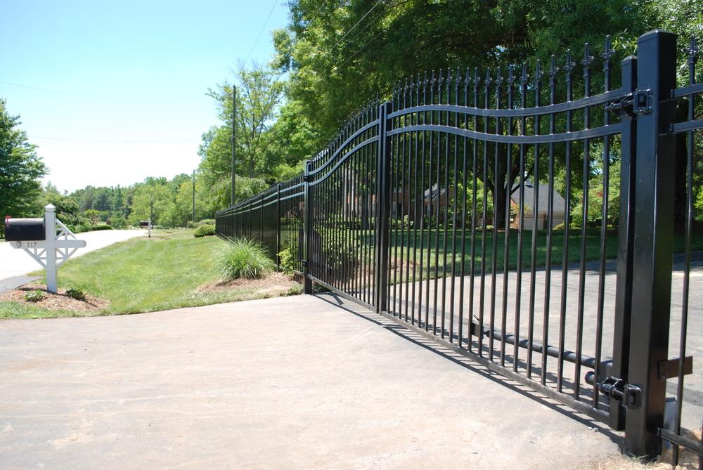 Estate Gates Crown Fence