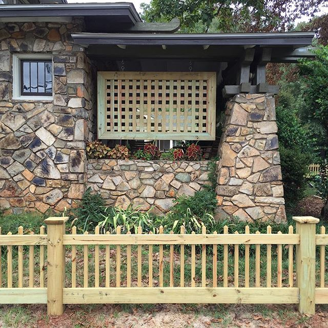 Park rd custom lattice panel #3
