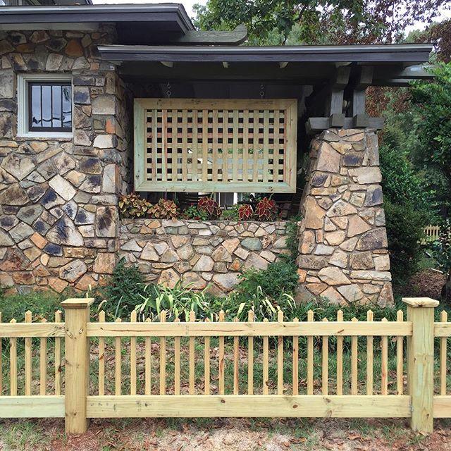 Park rd custom lattice panel #3
