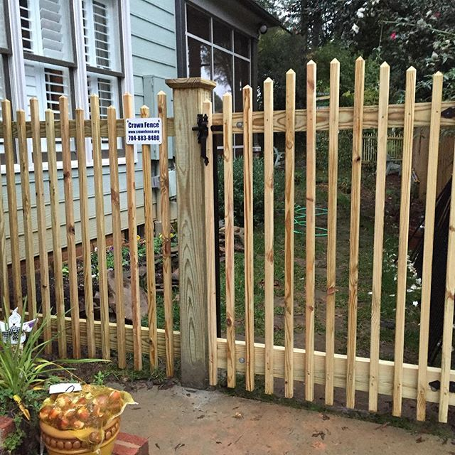 Custom wood picket fence dilworth