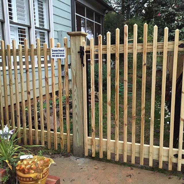 Custom wood picket fence dilworth