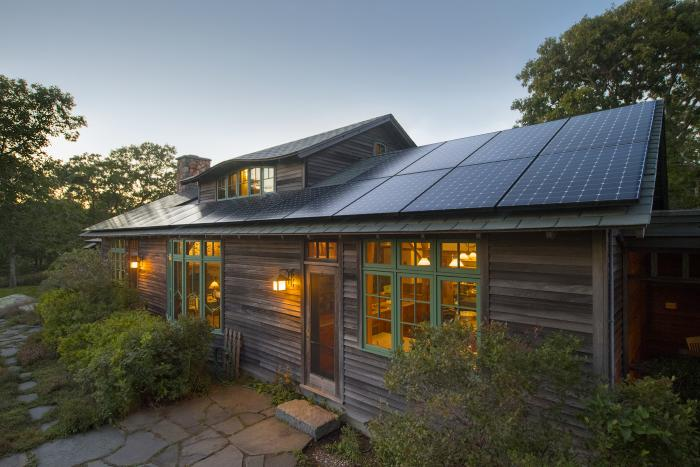 Cabin with Solar