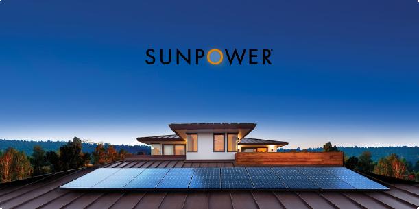 SunPower Equinox solar Install