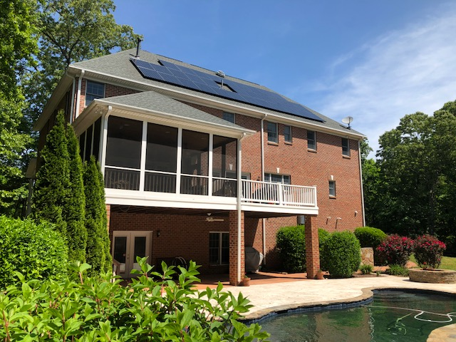 Matthews, NC Solar install
