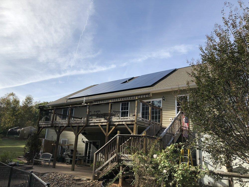 Mooresville, NC solar install