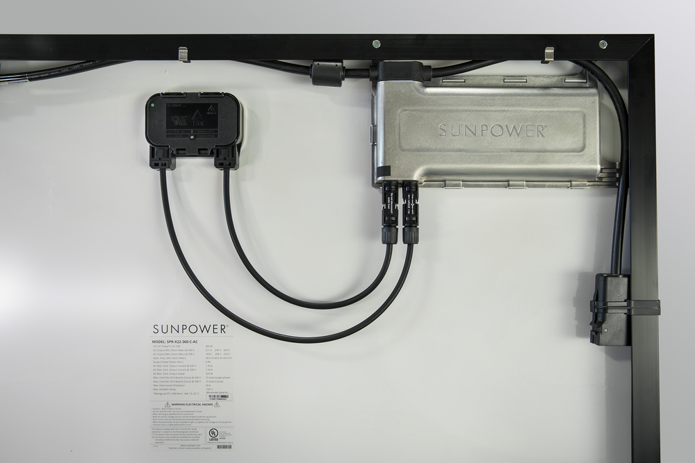SunPower AC Panel with Microinverter