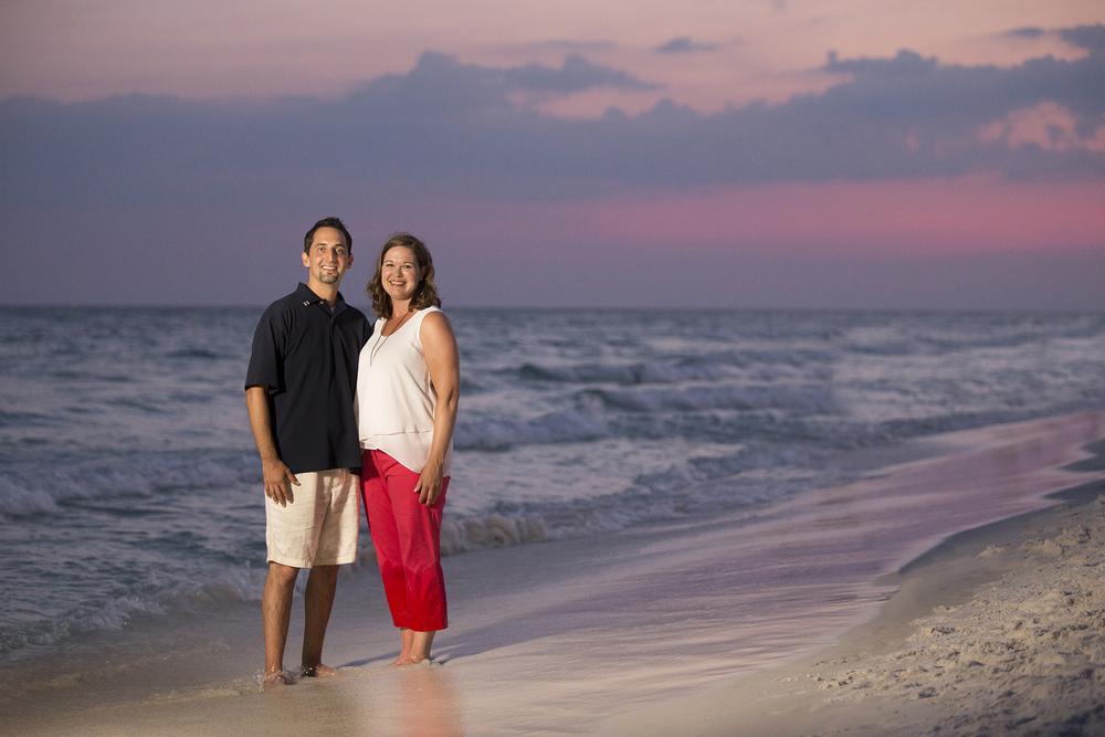 Beach Family Portrait Photo Destin Florida