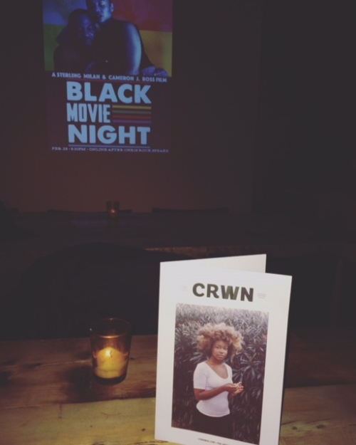 Black Movie Night starring Sheria Irving + Akintola Jiboyew