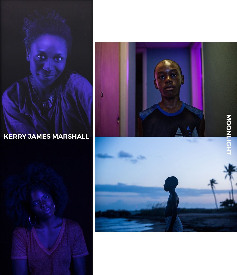 Kerry James Marshall /  Artsy  +  Moonlight Movie