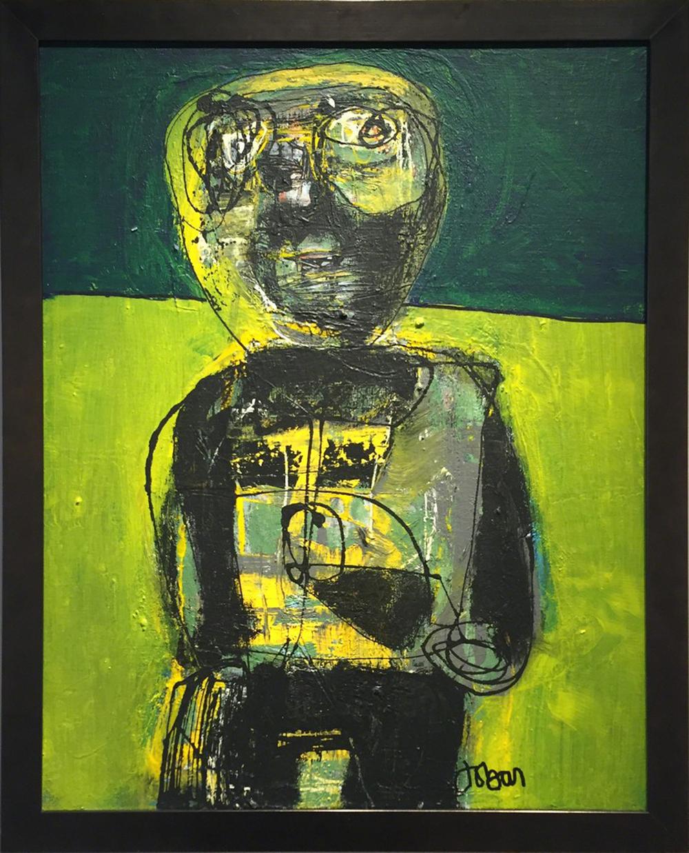 Shadowman | John Barker courtesy of Artsy