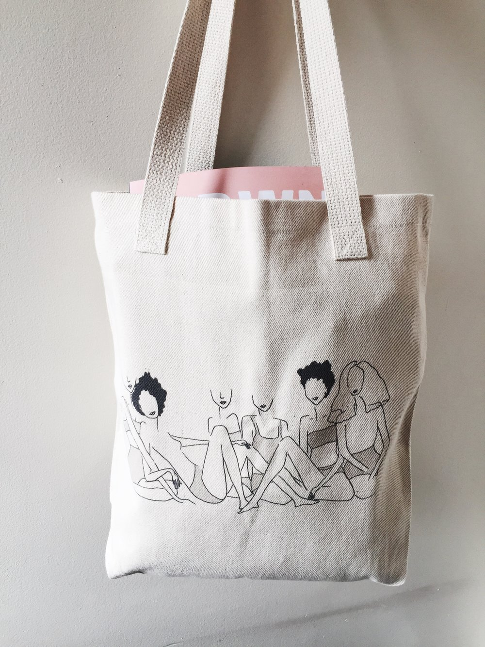 @ivoryandshlife black girl magic tote