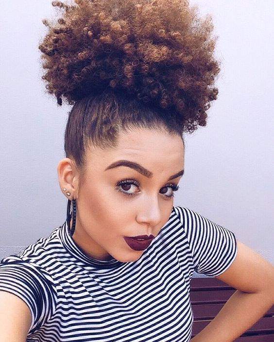 7 Natural Hairstyles That Will Slay Summer 17 Crwnmag