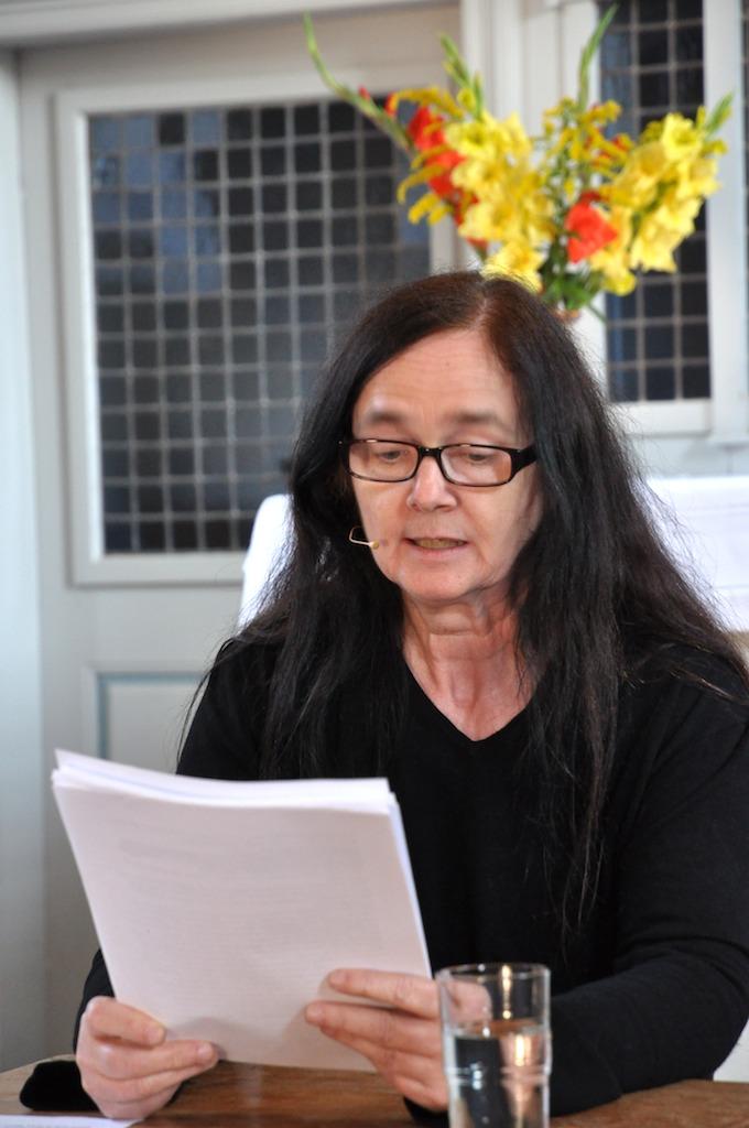 """Heike Katzwinkel liest aus Ernst Moritz Arndts """"Ich bin der Ritter Unverzagt"""""""