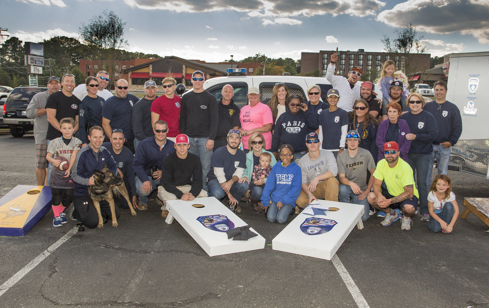 What a great day as Mission BBQ hosted our second annual team cornhole tournament on Sept. 17, 2015. Twenty one teams battled it out to help raise over $2,000 for our K-9 Unit!  http://www.hepherson.com/Person-Place-and-Things/FORK9-Cornhole-Tournament-Oct-/i-bCGvjMC/A