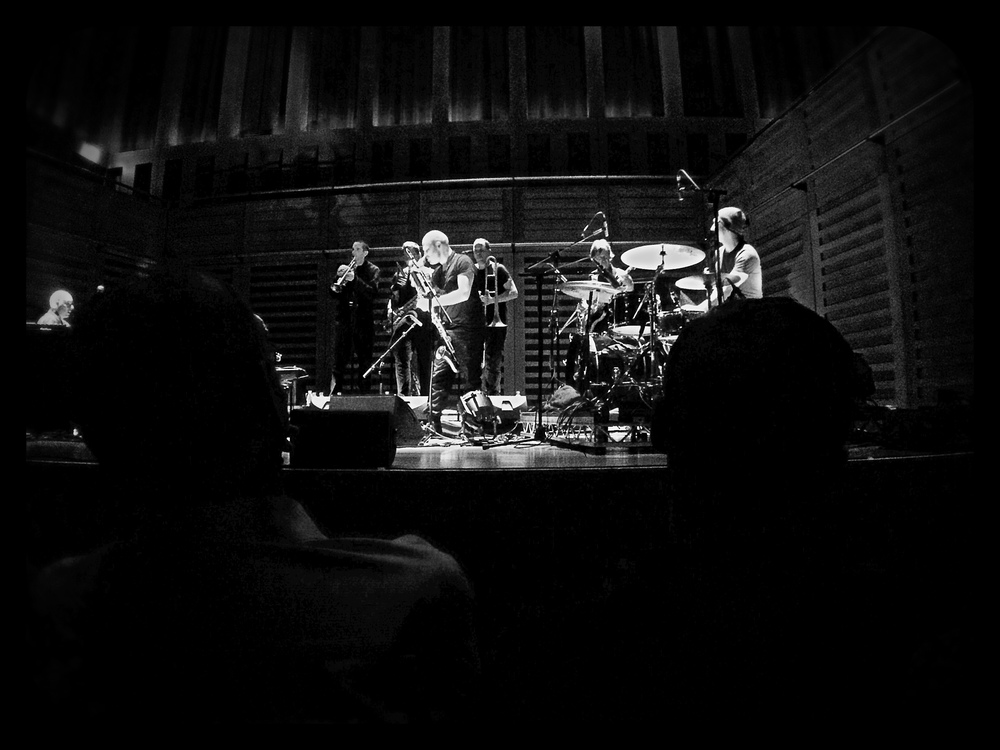 Nik Bartsch and Ronin, Kings Place London. Photograph by Joff Winks 2015.