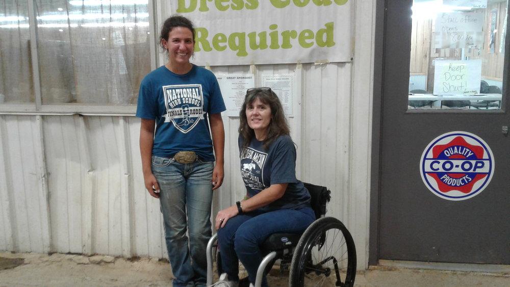 Rebecca Darrup, MCC Rodeo Team Member