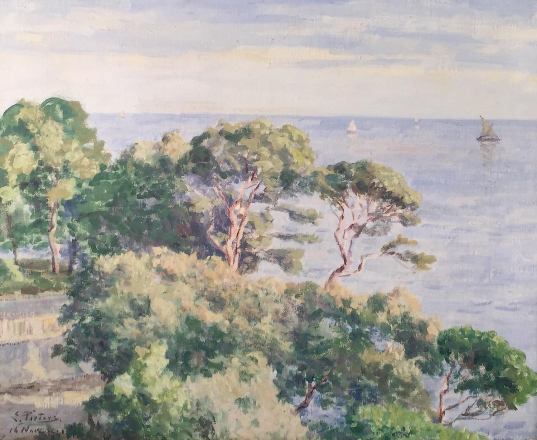 Evert Pieters - St. Tropez — Brady Hart Gallery