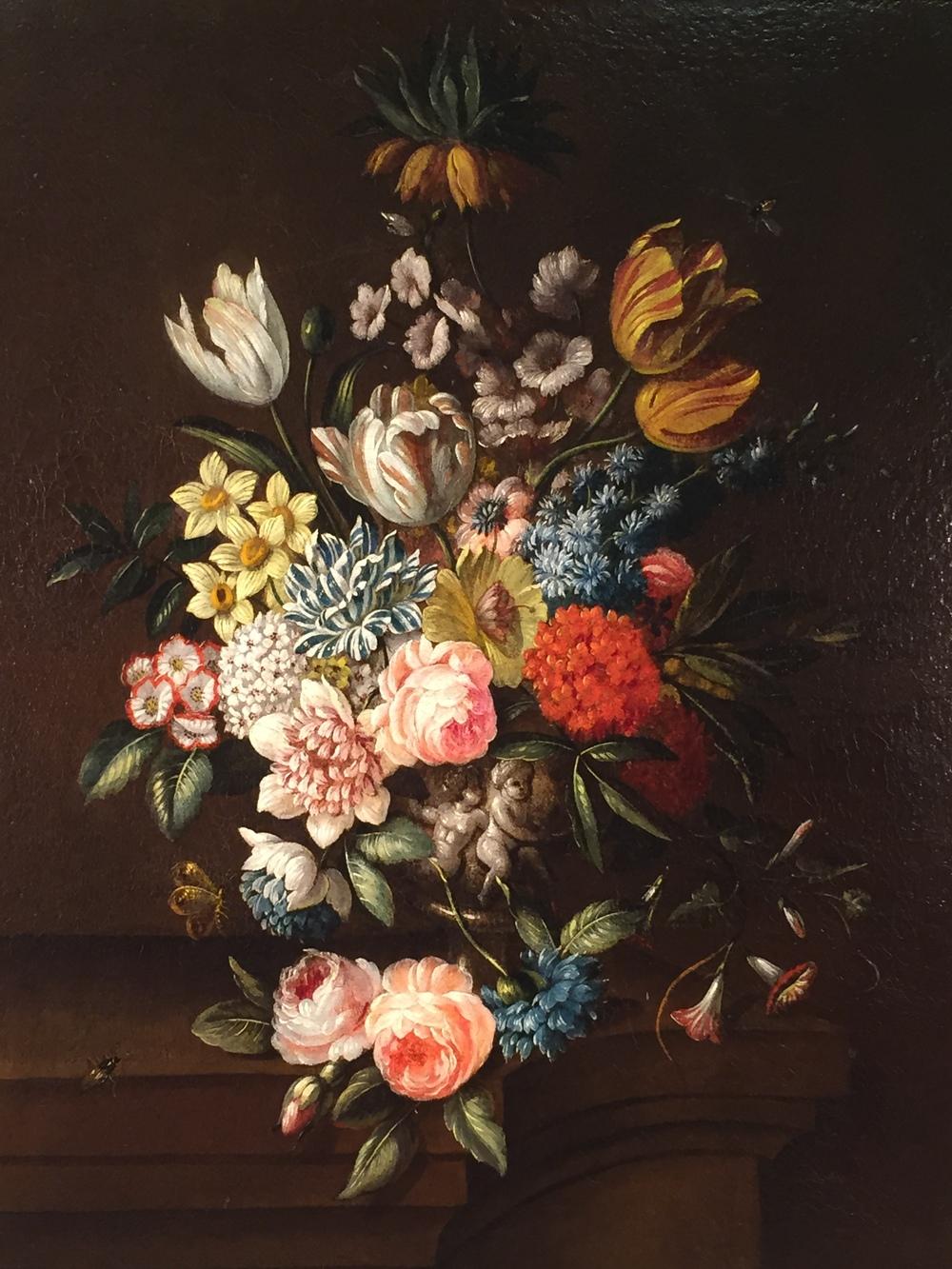 Early 19th C. Dutch Floral