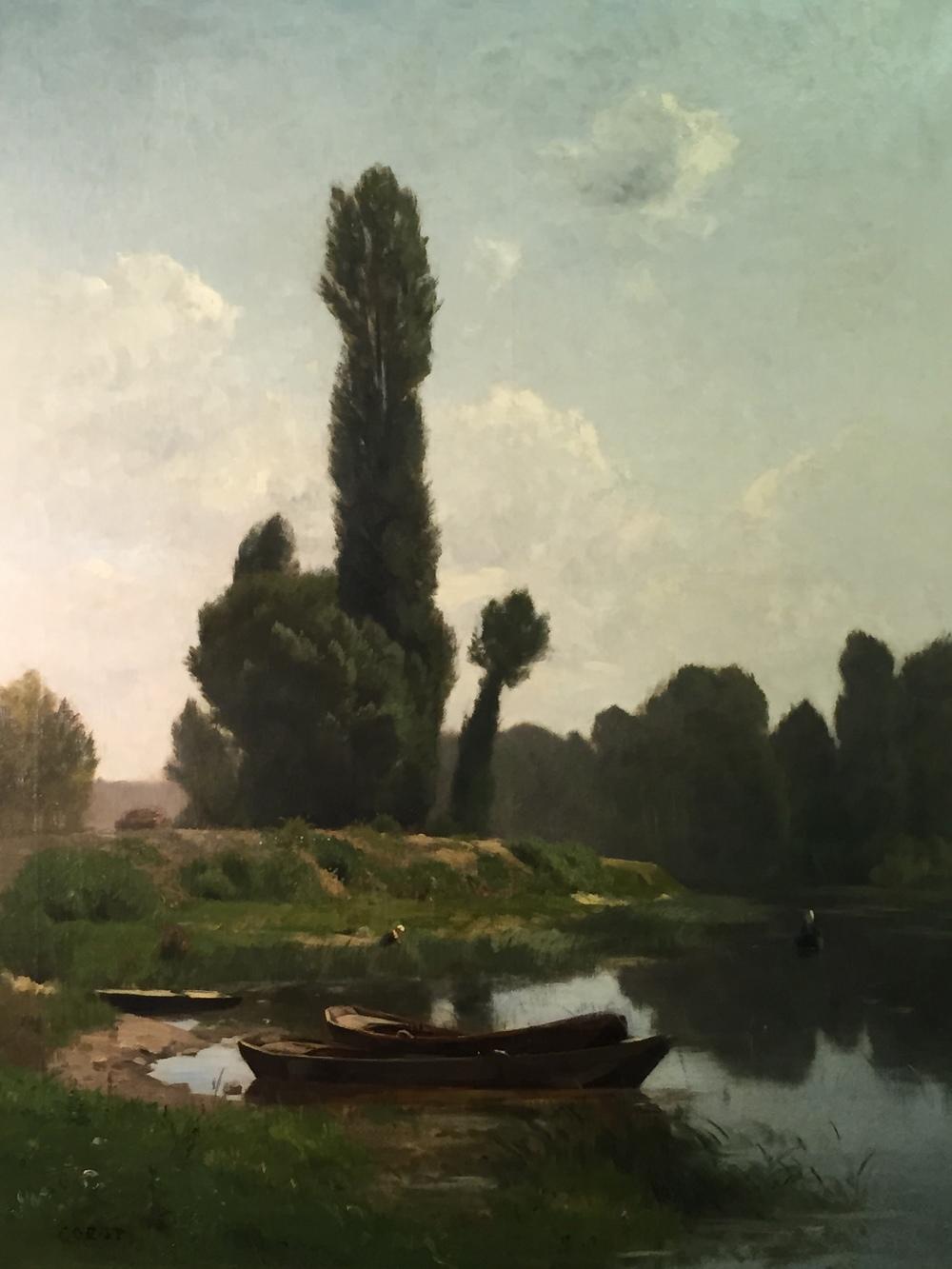 Jean-Baptiste-Camille Corot  (1796 - 1875) MA