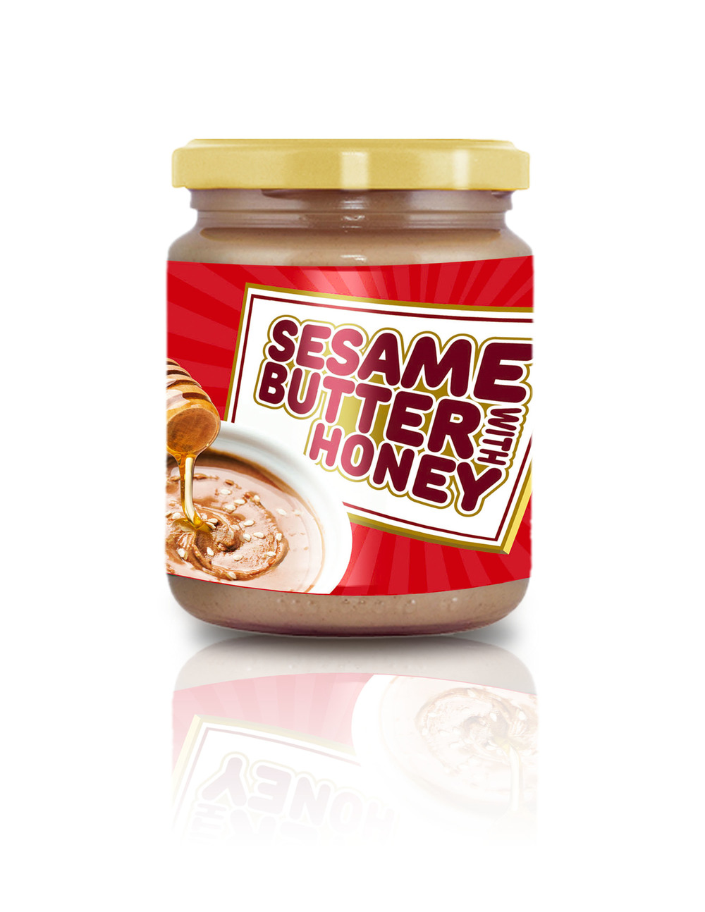 SESAME BUTTER WITH HONEY 200g (7,05 oz)