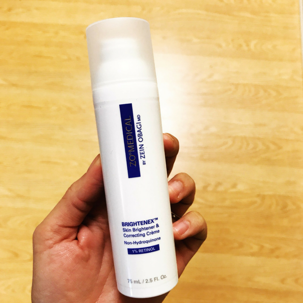 Retinol Skin Brightener 1%: This 1% solution has the same benefits as the .5% Retinol Skin Brightener, but with an increased strength. -