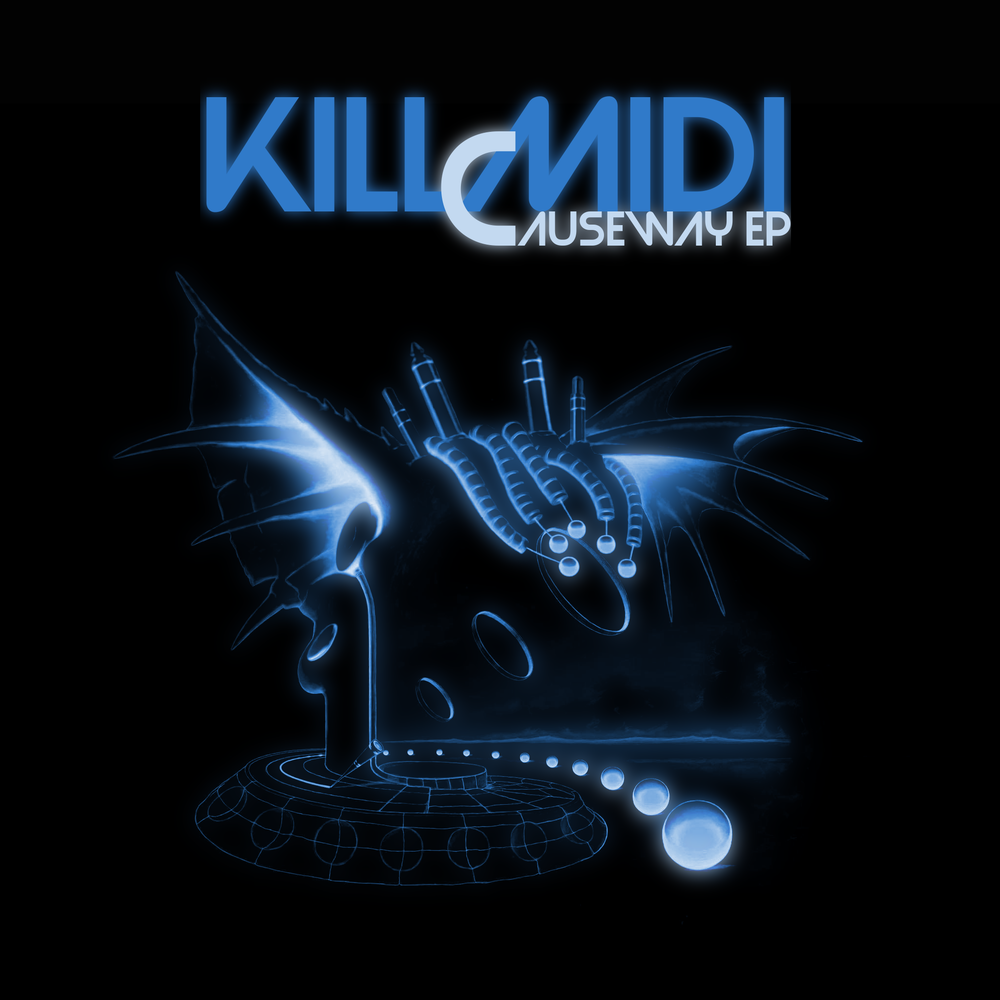KillMiDi - Causeway EP - Causeway EP is a collection of works composed by Alberta based electronic musician and live performer KillMidi.Containing 3 original productions and 2 remixes, the Causeway EP moves your mind and body through an electronic journey that sparks inspiration inside of those who listen.Click Image for More Details.