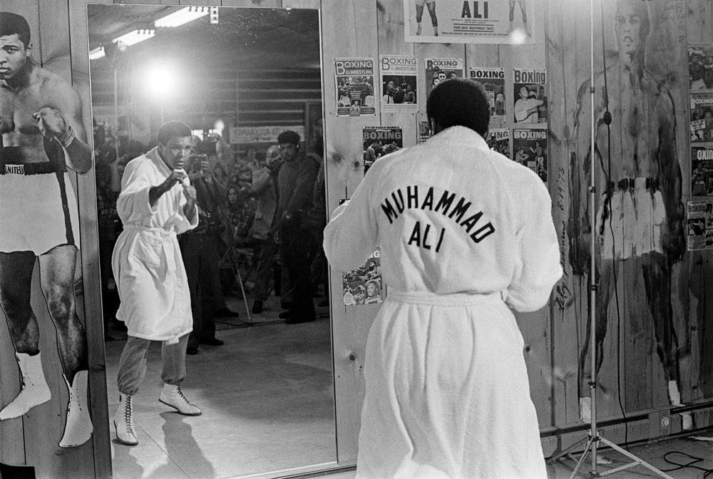 Muhammad Ali trains at his camp in Deer Lake, Pa., on Jan. 17, 1974. Ali, a three-time world heavyweight boxing champion whose brash self-confidence and personal convictions made him the most charismatic and controversial sports figure of the 20th century, died in Phoenix on June 3, 2016. He was 74. (Robert Walker/The New York Times)