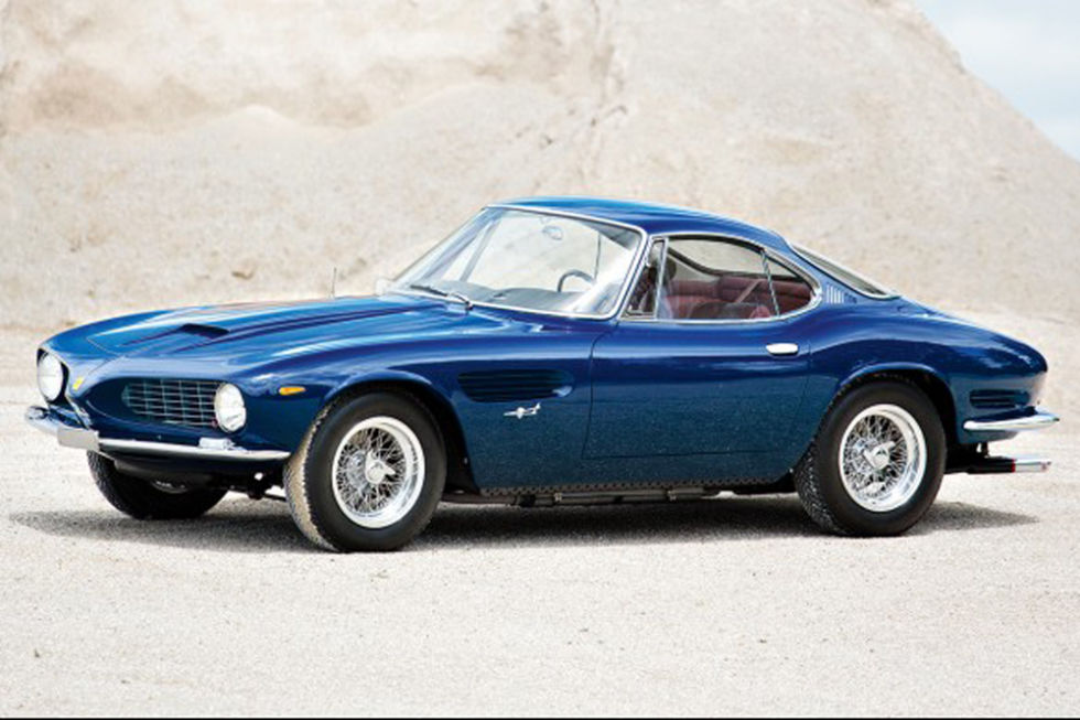 No. 6: 1962 Ferrari 250 GT SWB Coupe Sold for: $16.5 million in 2015   What has a V-12, a 4-speed manual, disc brakes, and all of its paperwork in order? This 1962 Ferrari 250 GT, a short-wheelbase coupe, painted a gorgeous cerulean. It slips in just under the $17 million mark, in line with the average sale price for the vehicles with the highest price tags. In addition to having taken top honors at concours events in past years, the 250 GT is reported to have served as personal car of Mr. Bertone himself. Come prestigioso!