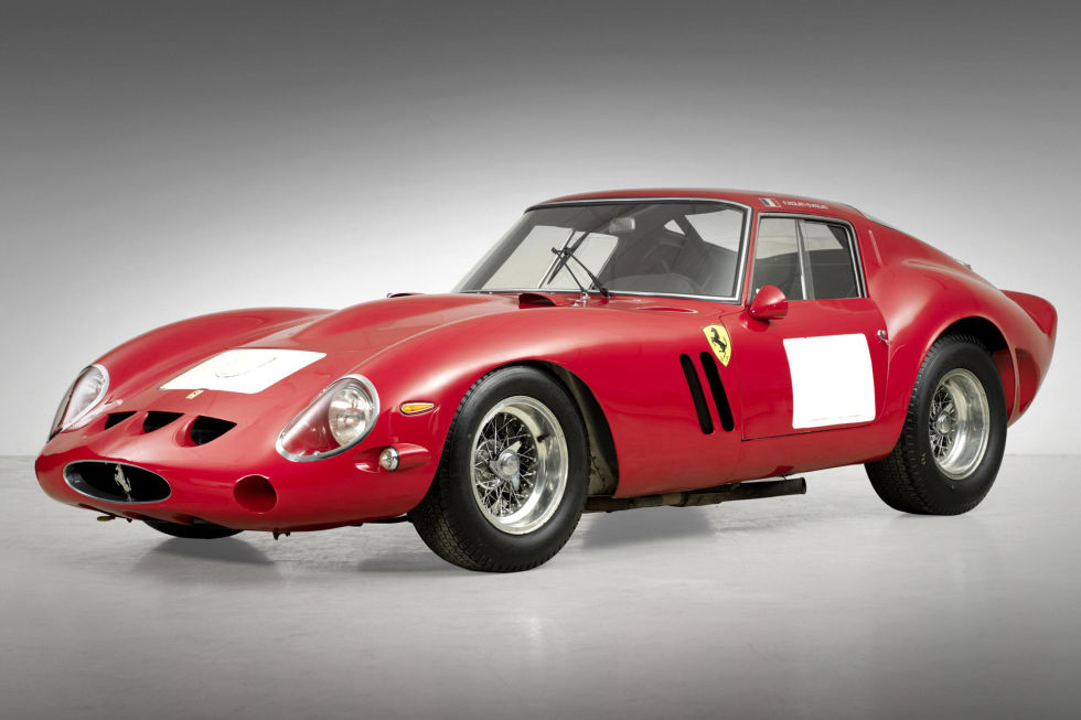 No. 1: 1962 Ferrari 250 GTO Berlinetta Sold for: $38.1 million in 2014   Talk about pedigree: This particular 250 GTO Berlinetta made a name for itself as a competitor and a winner, before ever falling into the loving hands of collectors. With under 40 ever produced, it's no wonder that the 250s top this list—and it holds the record for the most expensive car to ever be sold at an auction, in Monterey or otherwise.