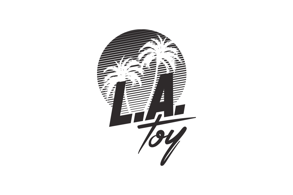 Monochrome L.A. Toy Logo
