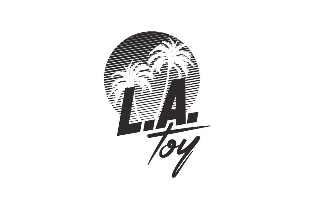 Monochrome L.A. Toy Logo