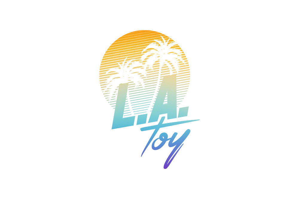 L.A. Toy Logo Colour