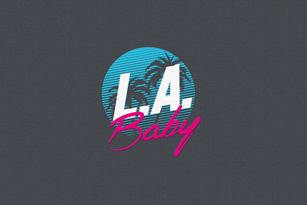L.A. Baby Logo