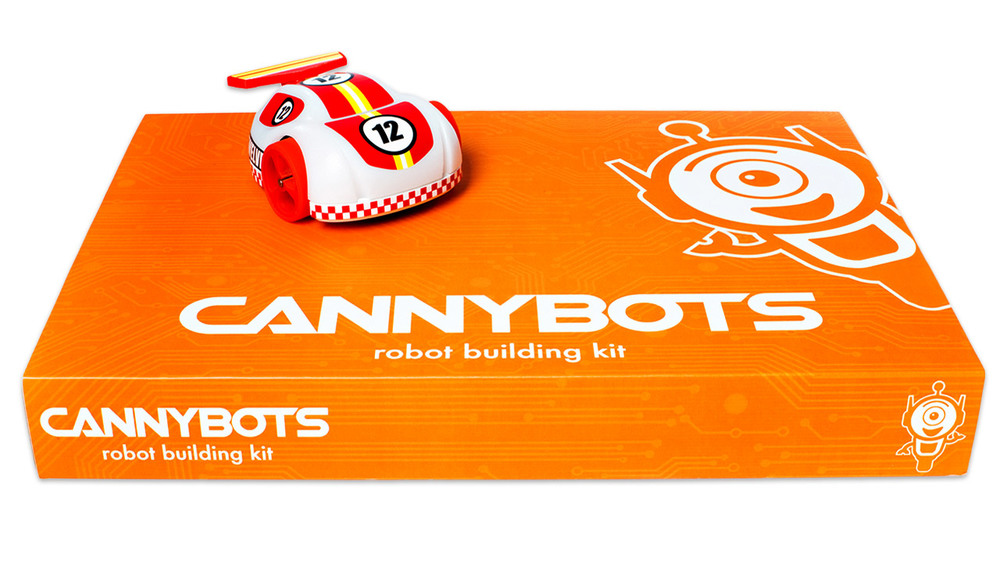 CannyBots Packaging with Product
