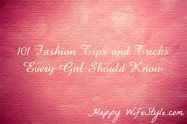 101-Fashion-Tips-and