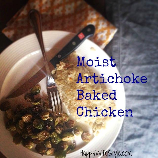 artichoke-baked-chicken