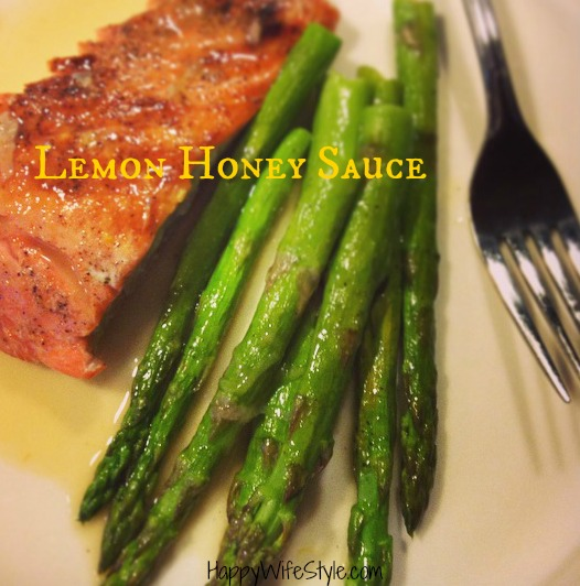 lemon-honey-sauce