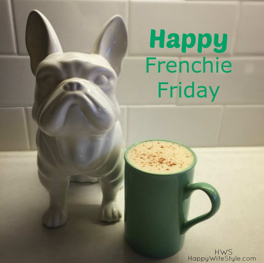 Frenchie Friday - How I make my coffee these days... — Happy ... #coffeeFriday