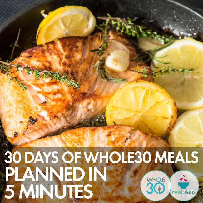 Whole30 has partnered with Real Plans to make your Whole30 MEAL PLANNING easier than ever!  Some of my recipes are included in their database of over 500 delicious Whole30 recipes! Click on the pic above to learn more.