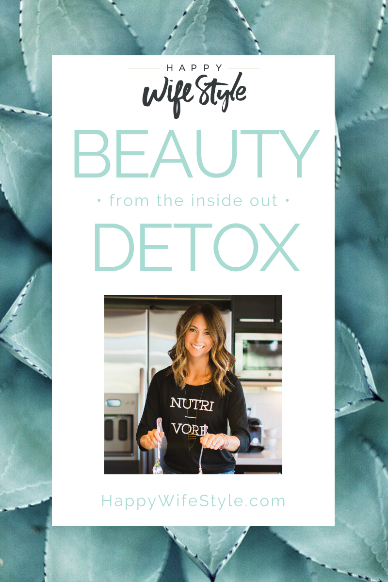 Improve your health from the inside out and feel great with this detox. Grab your beauty detox nutrition plan today #health #healthylifestyle #healthcoach #detox #mealplan