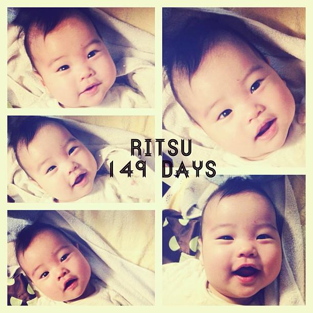 表情が豊かになる今日このごろ #ritsu #instagram