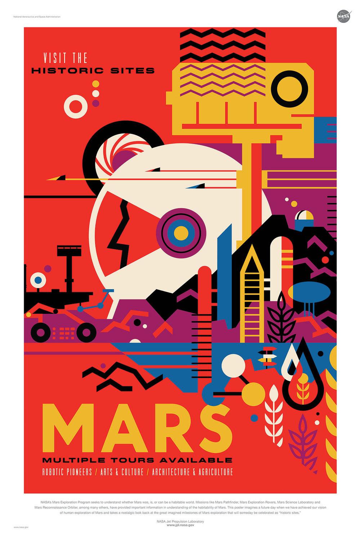 歴史的名所「火星」 ← 火星は歴史的場所なんですねw