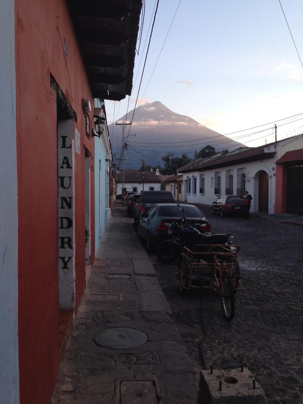 Aqua volcano. Fuego erupted.http://www.volcanodiscovery.com/fuego/news.html
