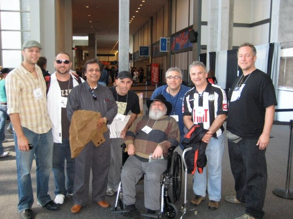 PASIC 2008 Austin Texas, November 2008. L-R: Andrew Greuschow, Randy Gloss, Swapan Chaudhuri, Carlos Stasi, John Bergamo, Jeff Brenner, Guello, Austin Wrinkle).